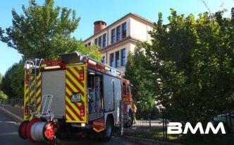 Feueralarm in 76. Oberschule – Brand im Theaterschrank